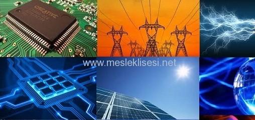 elektrik elektronik teknolojisi alanı