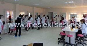güzellik ve saç bakım hizmetleri alanı-bölümü