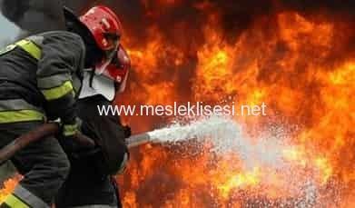 itfaiyecilik ve yangın güvenliği alanı
