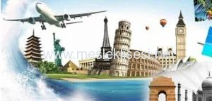 konaklama ve seyahat hizmetleri alanı