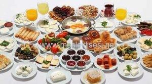yiyecek ve içecek hizmetleri alanı