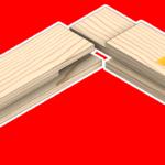 Açık zıvanalı 2-3 lambalı çerçeve köşe birleştirme