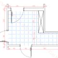 bilgisayarlı konut mekan resmi dersi antre çizimi