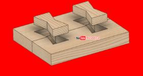 Kırlangıç Kuyruğu Kertme Çıtalı En Birleştirme-Birleştirme Teknikleri
