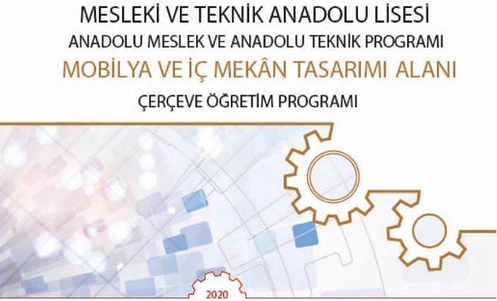 Mobilya ve İç Mekan Tasarımı Alanı Dalları ve Dersleri - Alan Çerçeve Öğretim Programı