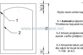Mobilya İç Mekan Tasarımı Alanı CNC Dersi Sınavları